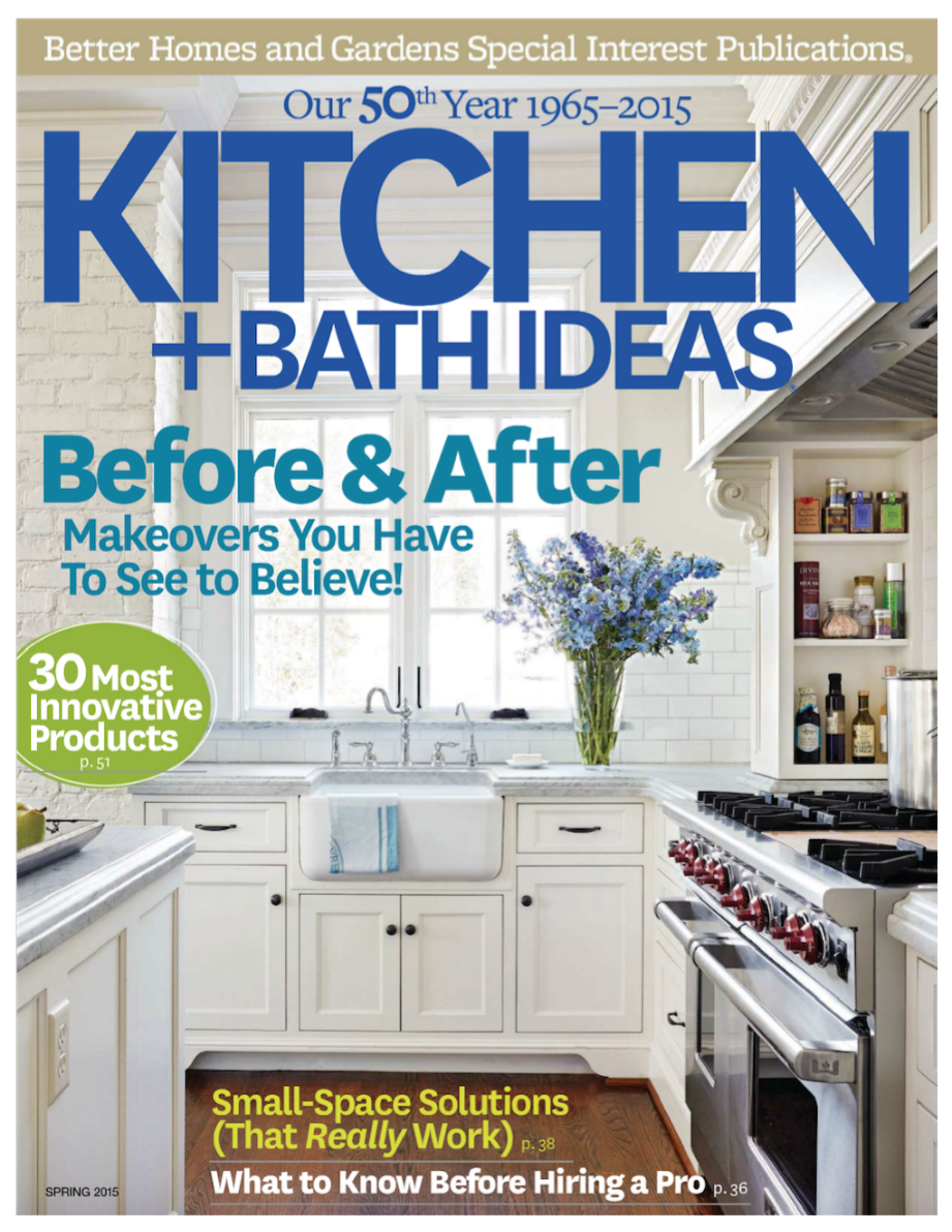 Kitchen And Bath Magazine press - kitchen & bath magazine spring 2015 | the suzanne biers
